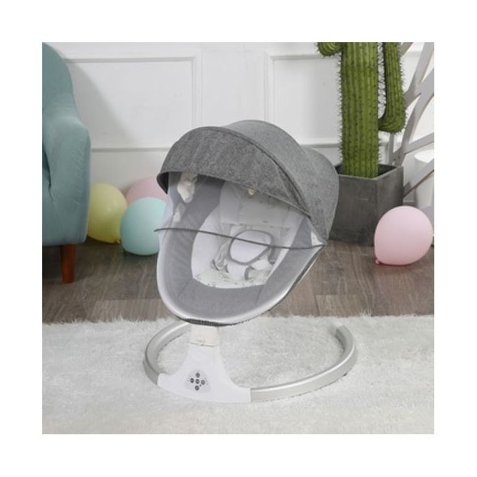 Electric baby swing cot