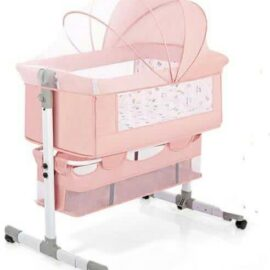 Pink Baby Cosleeper Bed