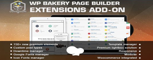 Composium WP Bakery Page Builder Extensions Addon plugin