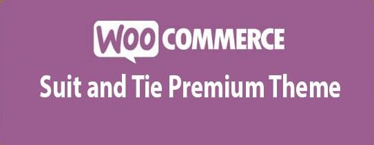 Suit and Tie Premium Theme for WooCommerce