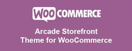 Arcade Storefront Theme for WooCommerce