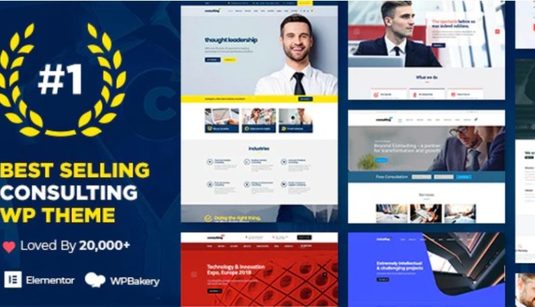 Consulting Responsive Theme