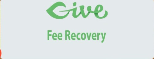 Give Fee Recovery wordpress pluign