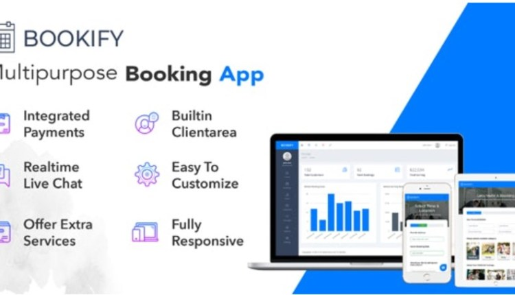 Bookify Multifunctional Booking Web Application Script