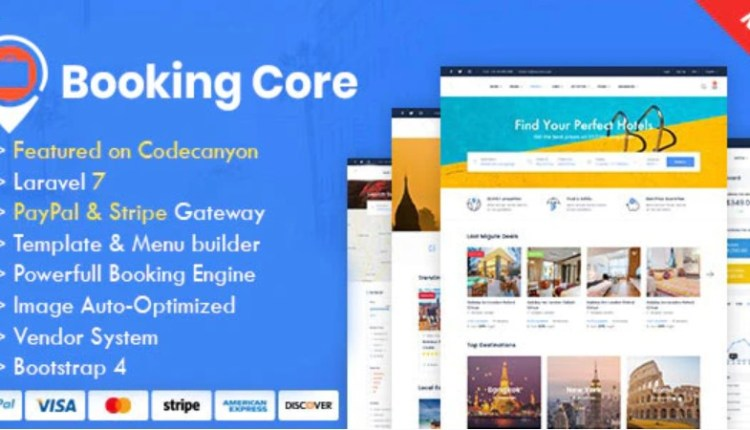 Booking Core Ultimate Booking System Script