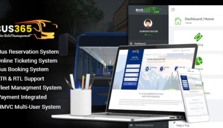 Bus365 Bus Reservation System PHP Script