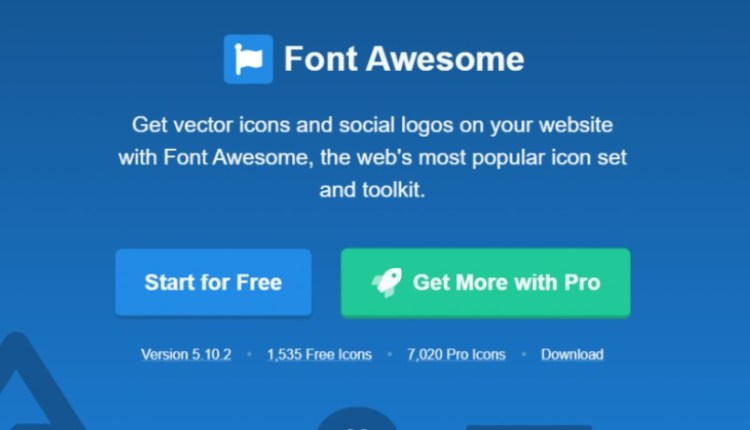 Font Awesome Pro PHP Script