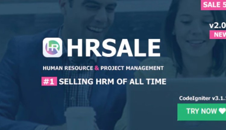 HRSALE Ultimate HRM PHP Script