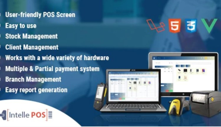Intelle POS Inventory System PHP Script