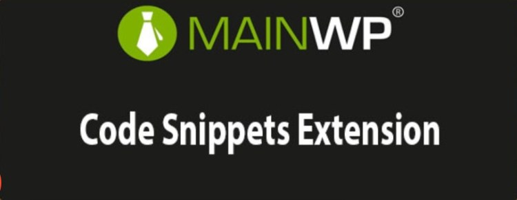 MainWP Code Snippets Extension plugin