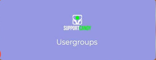 SupportCandy Usergroup plugin