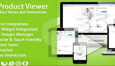 Product Viewer 360º Animation Plugin