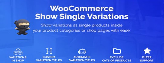 WooCommerce Show Variations