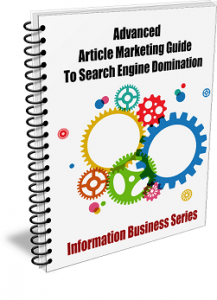 Advanced Article Marketing Guide to SE Domination