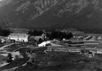 View looking north. University of British Columbia Archives, Margaret Sage fonds (UBC 39.1/18)