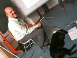 Henning Krey mit Luna