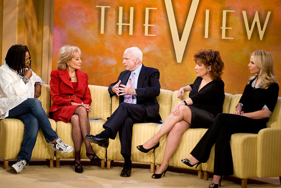 The Ladies of the View and John McCain