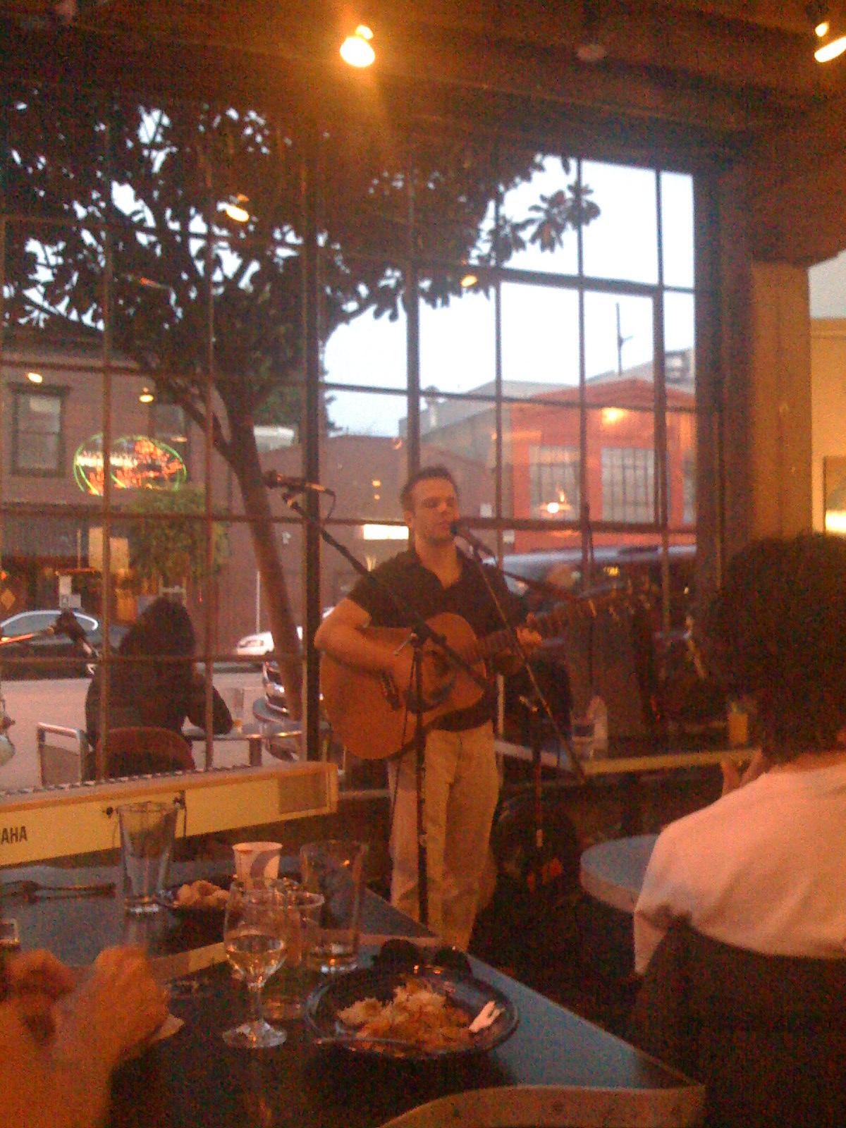 Tom Goss Performance at Brainwash San Francisco Photo by Tasithoughts