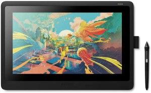 """Elegir una Tableta gráfica para diseño gráfico. Wacom Cintiq 16 - Monitor Interactivo y bolígrafo Wacom Pen Pro 2, Pantalla LCD de 16"""" para diseño digital, Resolución Full HD, Compatible con Windows y OS, Negro"""