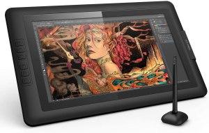 Elegir una Tableta gráfica para diseño gráfico. XP-PEN Artist15.6 IPS Gráficos Monitor de Dibujo Tableta con Guante y Lápiz Digital sin Pila (8192 Niveles de Presión)