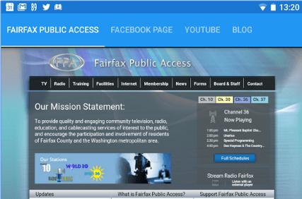 Fairfax Public Access