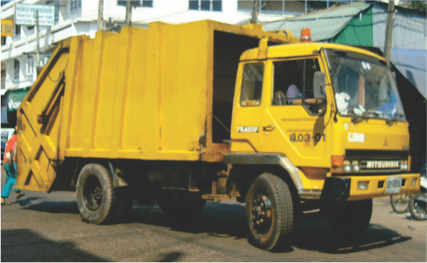 Waste Collection Vehicle