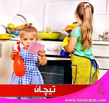 طرق تنظيف المطبخ الألوميتال والخشب من الدهون بدون تعب ولا مجهود