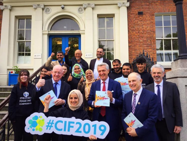 Group picture with CIF 2019 Logo