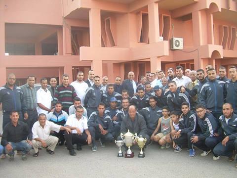 فريق الوداد السرغيني يفوز ببطولة المغرب للشبان
