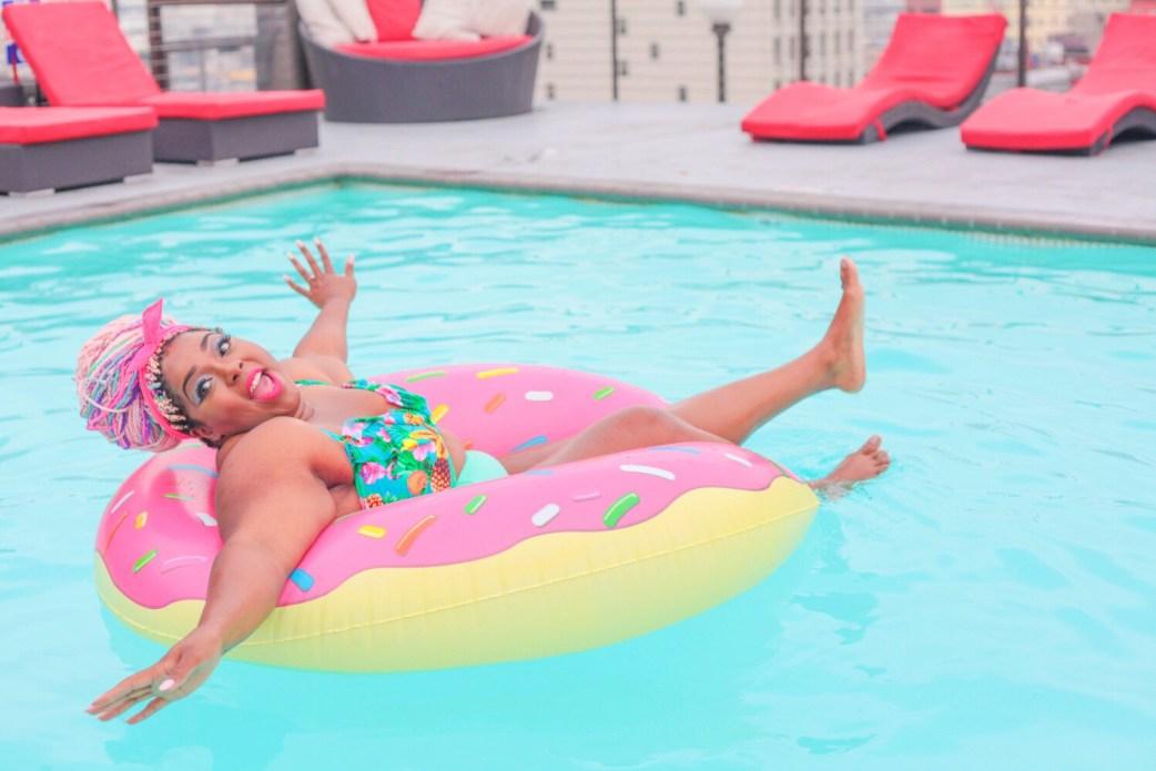 tasselfairy on a donut float