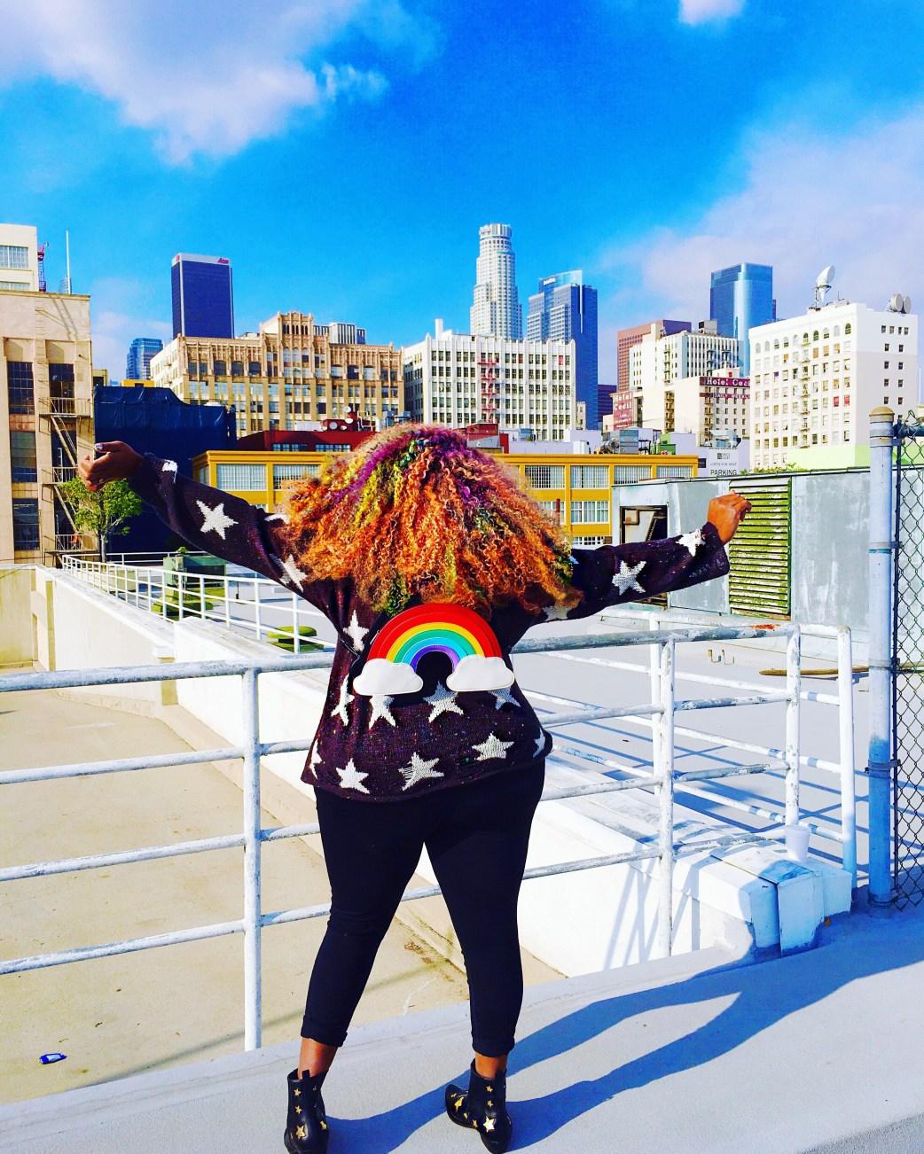 Amina Rainbow Backpack