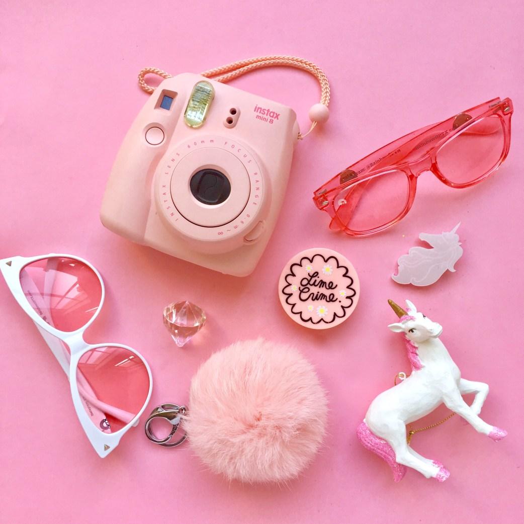 Pink Flatlay Rainbow Optx