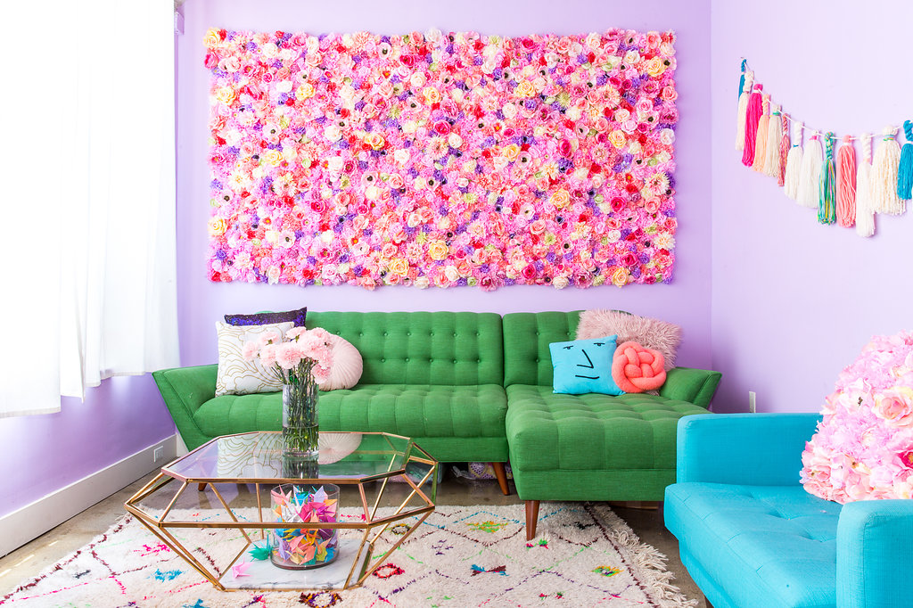 Colorful Gallery Wall With Framers Pointe