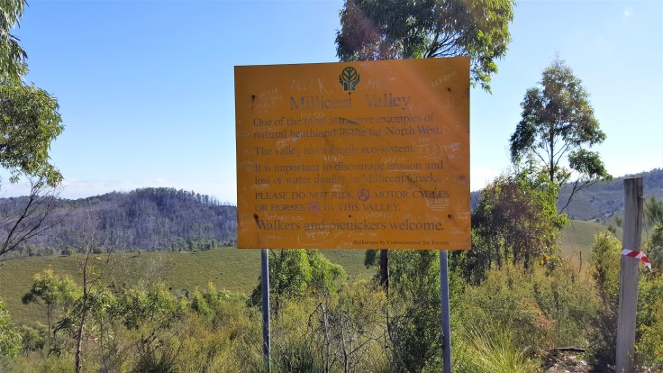 Millicent Valley sign
