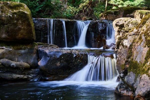 Flowerdale River Falls 1 - Meunna Area Waterfalls.