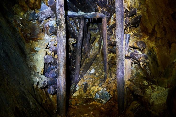 Mt Farrell Mine adit 1 1