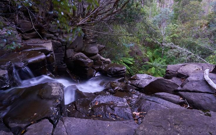 Lyell Highway Waterfall 2 1
