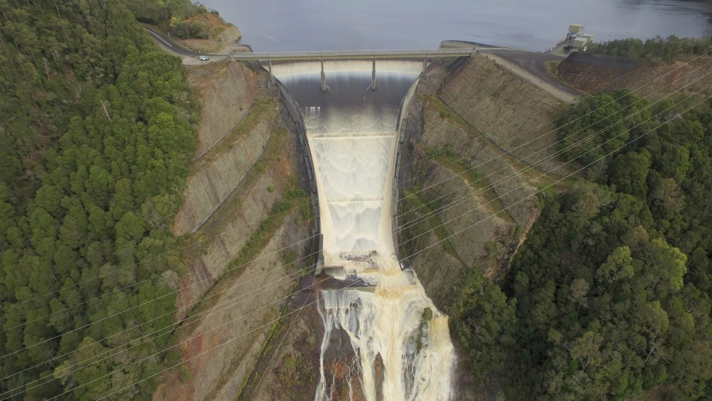 Reece Dam Spillway 1 - West Coast Trip.