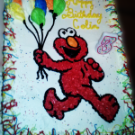 Elmo Classic Cake from Taste and C