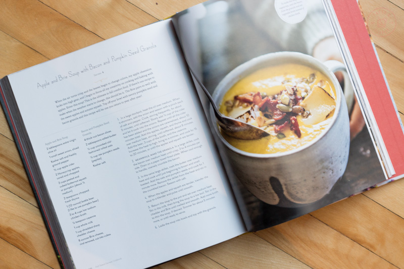 Apple and Brie Soup with Pumpkin Bacon Granola   Taste and Tipple