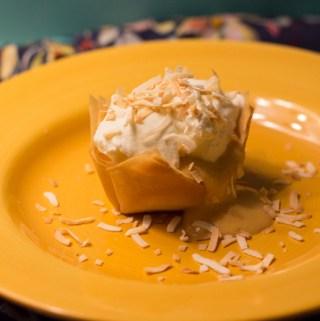 Pumpkin Coconut Cream Tartlets | Taste and Tipple