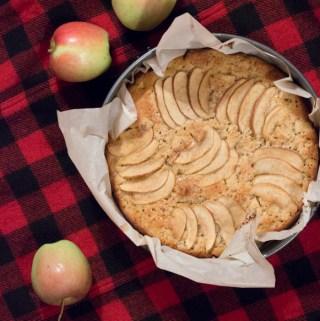 Bourbon Apple Cake