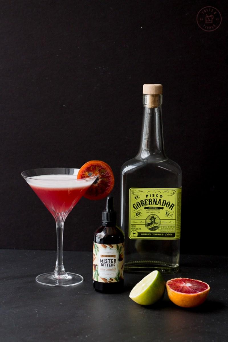 Tickled Pink Cocktail | Taste and Tipple