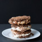 Peanut Butter and Banana Ice Cream Sandwiches | Taste and Tipple