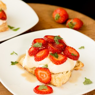 Black Pepper Strawberry Shortcake | Taste and Tipple