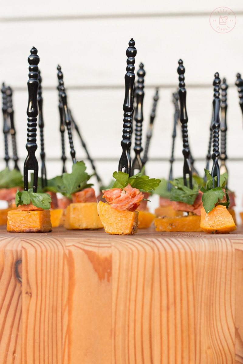 Butternut Squash and Chorizo Skewers | Taste and Tipple