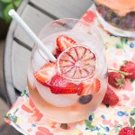 Elderflower Rosé Sangria | Taste and Tipple