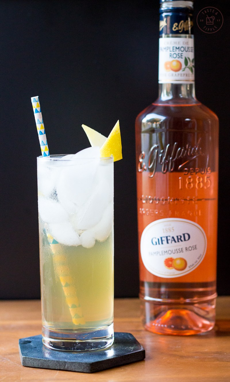 Grapefruit Bourbon Lemonade | Taste and Tipple