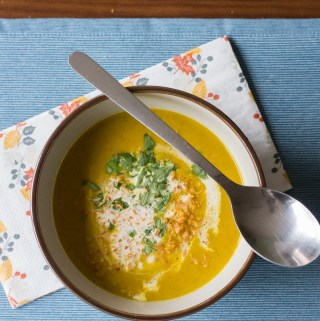 Curried Pumpkin Soup   Taste and Tipple