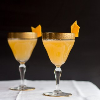 Christmas Clementine Drop | Taste and Tipple